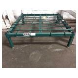 """24"""" x 24"""" Green Coated Dunnage Rack"""