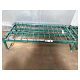 """36"""" x 18"""" Green Coated Dunnage Rack"""