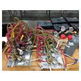 1 Lot 2 6-Head Keg Beer Tapper Systems w/ CO2