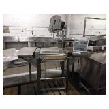 Hobart HWS-4 Wrapping Station w/ Label Printer