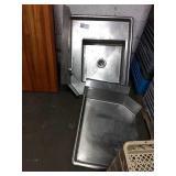 """1 Lot 2 Dish Wings:(1) RH Sink Wing,Approx 31""""x36"""""""
