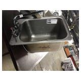 """Drop In Hand Sink, Approx 12"""" x 18"""""""