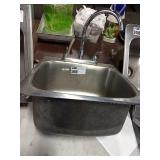 """Drop In Hand Sink, Approx 20"""" x 21"""""""