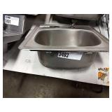 """Drop In Hand Sink, Approx 15"""" x 15"""""""