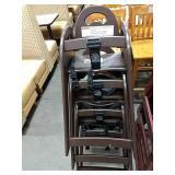4x Koala Brown Resin High Chairs