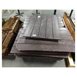1 Lot Skid Approx 13 Heavy Duty Outdoor Table