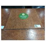 """Cherry Stained 24"""" Square Dining Table w/ Single"""