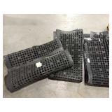 1 Lot 3 Black Cushion Mats