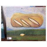 """Bread Canvas, Approx 36"""" x 30"""""""
