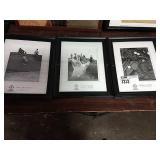 1 Lot 3 Black & White Scottish Golf Pictures