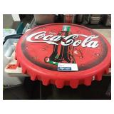 "Coca Cola Resin Tabletop, Approx 36"" Diameter"