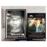 1 Lot 2 Movie Posters: Highlander & Trainspotting