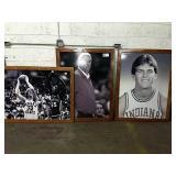 1 Lot Bob Knight, Damon Bailey & Larry Bird