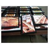 1 Lot 5 Bread Black Framed Canvases