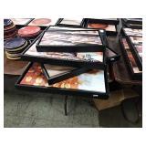 1 Lot 4 Bread Black Framed Canvases
