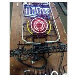 Miller Lite Neon Sign **Needs Repair**