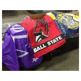 1 Lot Asst College & Pro Sports Team Flags