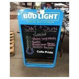 Bud Light Chalk Sidewalk Sign