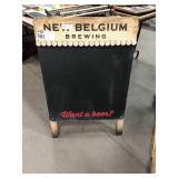 New Belgium Brewing Sidewalk Chalk Sign