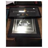 1 Lot Johnnie Walker Mirror & Black Framed