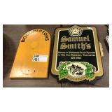 1 Lot Samuel Smiths & Boddingtons Wood Pieces