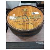 Macallan Wooden Barrel End Clock