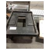 Black Cambro Rolling Dolly