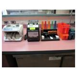 Assorted Money/Coin Counting Sorting Equipment: Fa