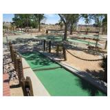 Miniature Golf Course Attraction