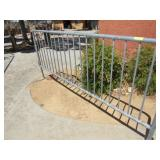 Thirteen Section Metal Portable Fence/Crowd Contro
