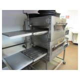 Impinger Stainless Steel Double Conveyor Pizza Ove