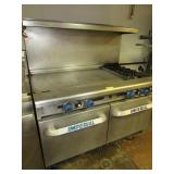 Imperial Stove/Ovens/Grill Combo: Gas
