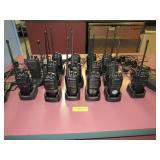 Large Walkie-Talkie Syms.: Approx. Fifteen Radios,