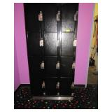 Black Metal Personal Lockers: Some Locks Do Not Wo