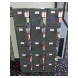 Segura Personal Locker: Fifteen Unit, Keys, Coin M