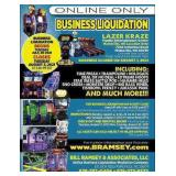 Ohio Family Entertainment Center Business Liquidation