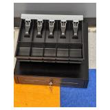 APG cash drawer with 2 extra insert trays
