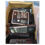 4 multi-line RCA phones.
