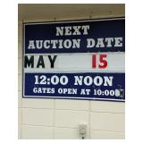 Jack's Towing Auction Saturday, May 15th at 12 Noon