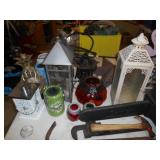 ASSORTED CANDLE LANTERNS