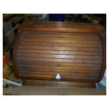 2 WOOD BREAD BOXES