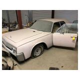 1962 LINCOLN CONTINENTAL, SUICIDE DOORS, PINK - LOCATED IN BOISE