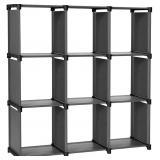 NIDB SONGMICS 9-Cube DIY Storage Shelves, Open Boo