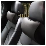 NB Aukee Car Pillow - Leather Memory Foam Car Head