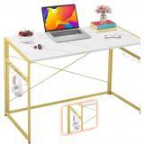"Mr IRONSTONE 39.4"" Folding Computer Desk, Writing"