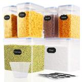 SOLEDI Food Storage Containers 6 Pieces, Cereal Co