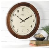 FirsTime & Co. Walnut Garrison Wall Clock, America