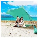 Used Beach Sunshade Sun Portable with UPF50 UV Pro