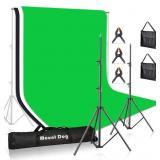NIDB MountDog Photography Backdrop Stand 10ft Adju