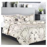 NB Premium Plush 4 Piece Comforter Set-Modern Luxu